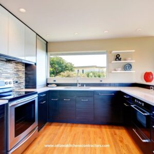 Kitchen Make Over with Kitchen Cabinets