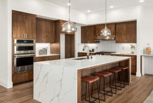 Our company offers kitchen design by a professional kitchen designer